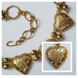 Accessories - Gold Heart Hip Chain